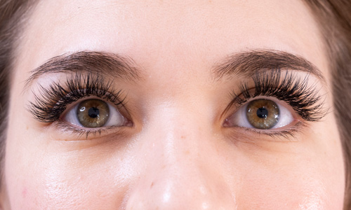 lash extensions-russian-hybrid-classic